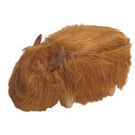 Highland Cow Storage Footstool 91x30x36cm