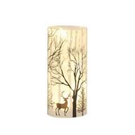 LED Reindeer Scene 20cm