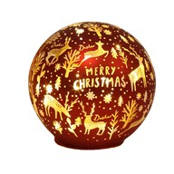 LED Xmas Ball Red 11.5cm