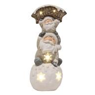 LED Santa Decoration 58.5cm