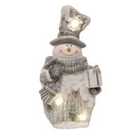 LED Snowman Decoration 45.5cm