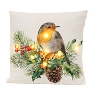 LED Robin Cushion 45x45