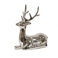 Ceramic Silver Reindeer 20m