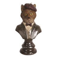 Decorative Fox Figurine 17.5cm
