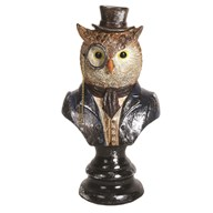 Decorative Owl Figurine 17.5cm
