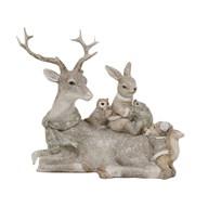 Deco Reindeer Figurine 16cm