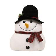 Snowman Door Stop 32cm