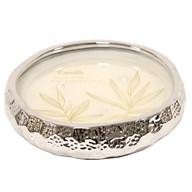 Silver Ceramic Candle 22.5cm
