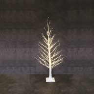 LED White Lights Birch Tree 5ft 560L