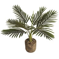 Artificial Palm Plant in Decorative Pot 60cm