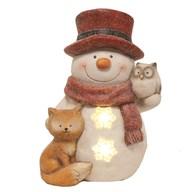 LED Snowman 37cm