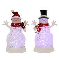 LED Snowman 2 Assorted 30cm