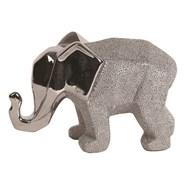 Ceramic Silver Elephant 21cm