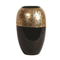 Black & Gold Vase 29cm