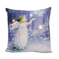 LED Angel Cushion 40x40