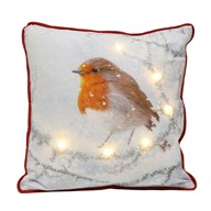 LED Robin Cushion 40x40