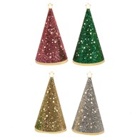 LED Cone Tree 4 Assorted 21.5cm