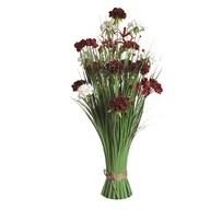 Peony Floral Grass 70cm
