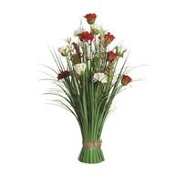 Rose Floral Grass 70cm