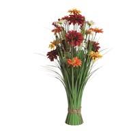 Mixed Floral Grass 70cm