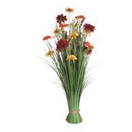 Mixed Floral Grass 100cm