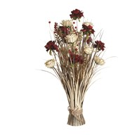 Peony/Rose Floral Grass 70cm