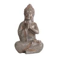 Decorative Resin Praying Buddha 31cm