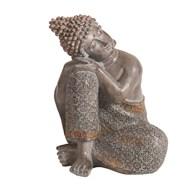 Deco Resin Buddha 19.5cm