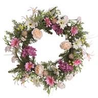 Hydrangea and Peony Wreath 50cm