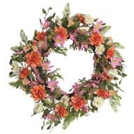 Geranium Wreath 50cm