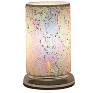 Pearl Crackle Touch Table Lamp 24cm