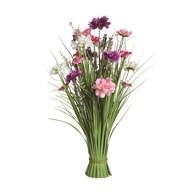 Grass Floral Bundle Pink Mixed 70cm