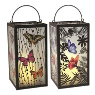 LED Butterfly Lantern 2 Assorted 28cm