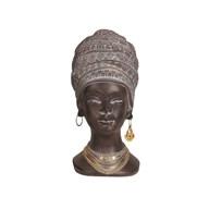 African Lady Head 28cm