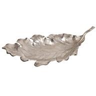 Aluminium Leaf Dish 56 x 26cm