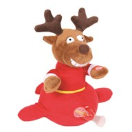 Animated Christmas Flying Reindeer 28cm