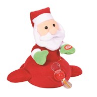 Animated Christmas Flying Santa 25cm