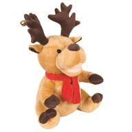 Animated Christmas Reindeer 32cm