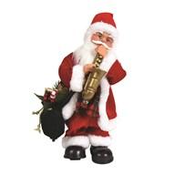 Animated Musical Santa 36cm
