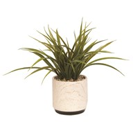 Artificial Grass Decorative Pot 30cm
