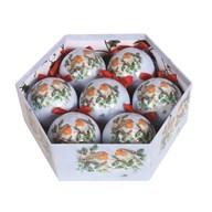 Bauble 7 Piece Gift Box Robin