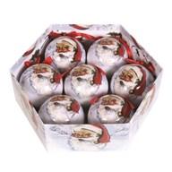 Bauble 7 Piece Gift Box Santa