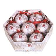 Bauble 7 Piece Gift Box Snowman