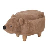 Bear Storage Footstool 60cm