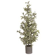 Berry Potted Tree Green 90cm