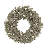 Berry Round Wreath Green 50cm