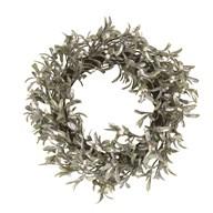 Berry Round Wreath Green 51cm