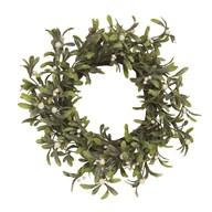 Berry Round Wreath Green 52cm