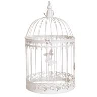 Vintage Birdcage White 41cm