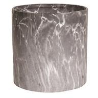 Grey Marble Planter 25x25cm